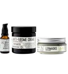 Ecooking - Anti Rødme Creme, Lermaske & Acne Serum