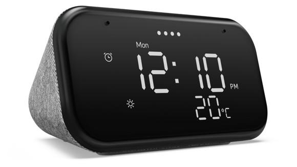 Lenovo - Smart Clock Essential with Google assistent