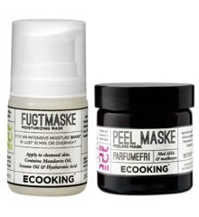 Ecooking - Peelmaske & Fugtmaske