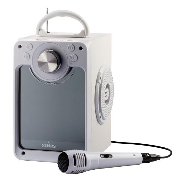 Stars - Karaoke Machine - White (30218)