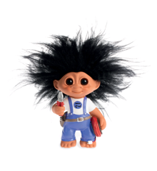 Good Luck Troll - Electrician Troll 9 cm (93606)