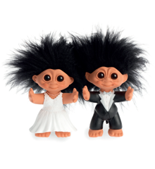 Good Luck Troll - Bridal Couple Troll 9 cm (93739)