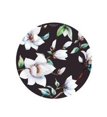 Everleigh & Me - Splat Mat, Magnolia Burgundy