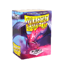 Dragon Shield - Matte Purple (100ct) (ATI1009)