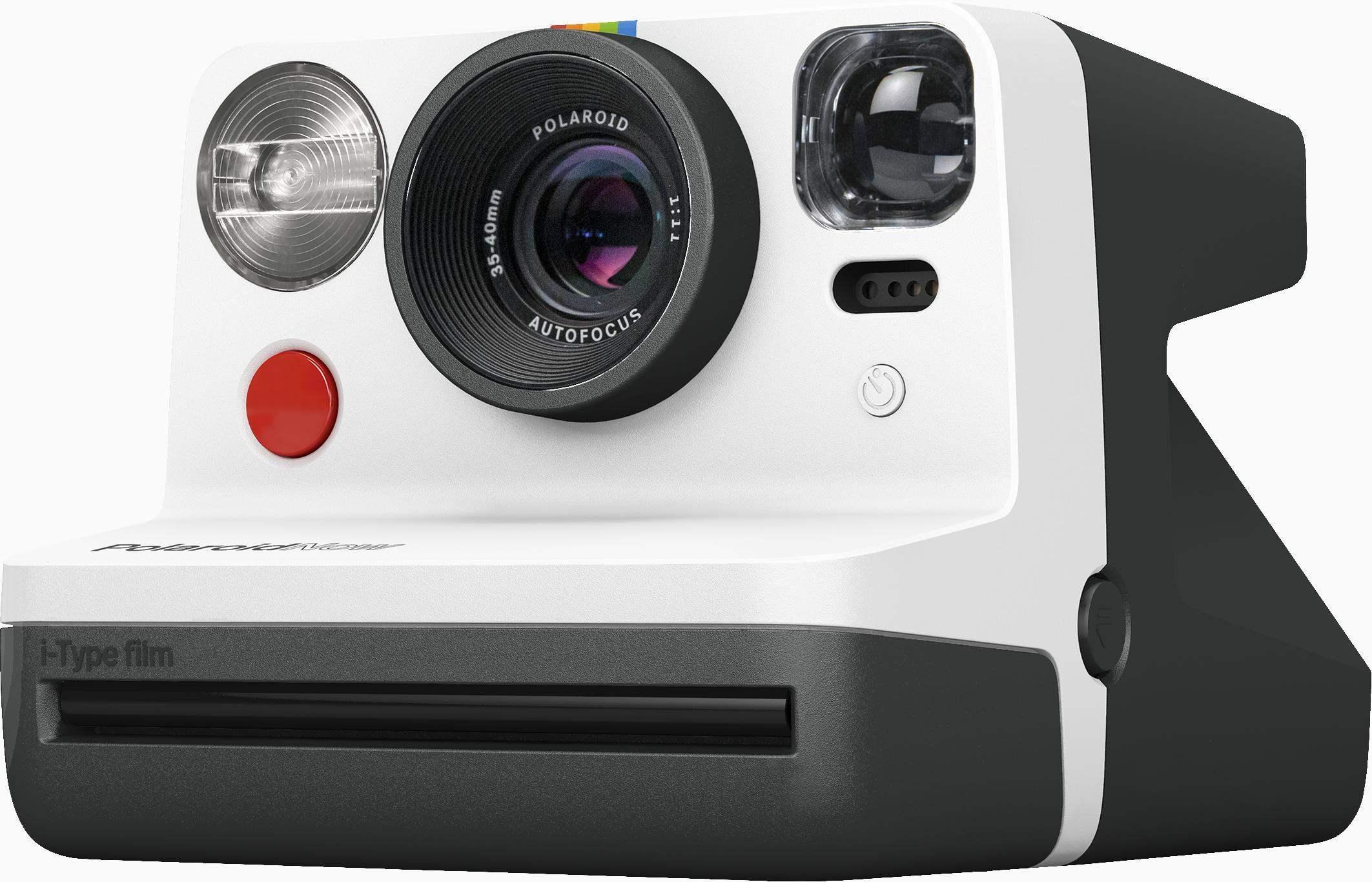 Polaroid - Now Point&Shoot Camera - Black/White
