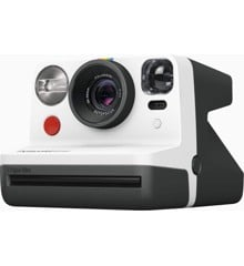 Polaroid - Now Point & Shoot Camera - Black/White