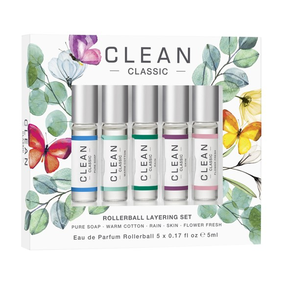 Clean - Rollerball Layering Set EDP 5 x 5 ml