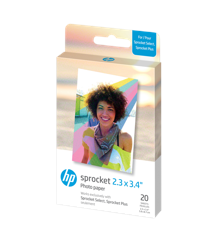 HP - Zink Paper For Sprocket Select 20 Pack 2,3x3,4""
