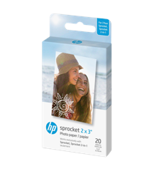 "HP - Zink Paper Sprocket For Luna 2x3"" - 20 Pack"