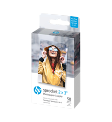 "HP - Zink Paper Sprocket For Luna 2x3"" - 50 Pack"