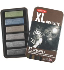 Derwent - XL Graphite Blocks, 6 Tin