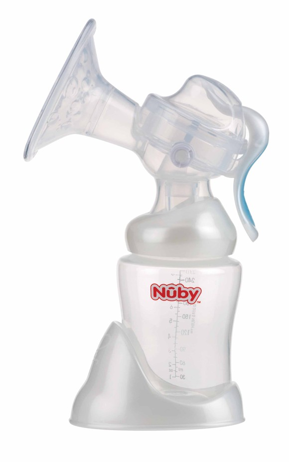 Nuby - Manual breast pump - 240 ml (NV01001)