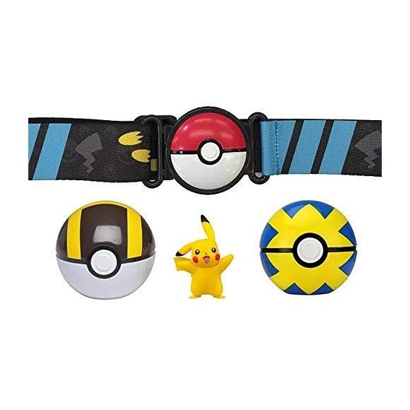 Pokemon - Clip 'N Go Poke Ball Belt - Pikachu