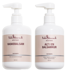 Pudderdåserne - Co-wash 500 ml + All in One Conditioner/Mask 500 ml