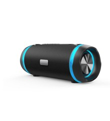Ledwood - XTREM240 Bluetooth/FM Wireless Portable Speaker IPX5 Waterproof