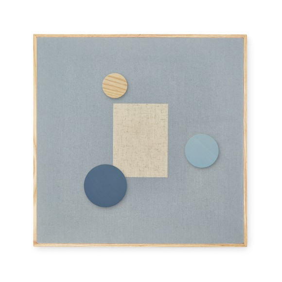 Nofred - Magnetic Pinboard -  Blue