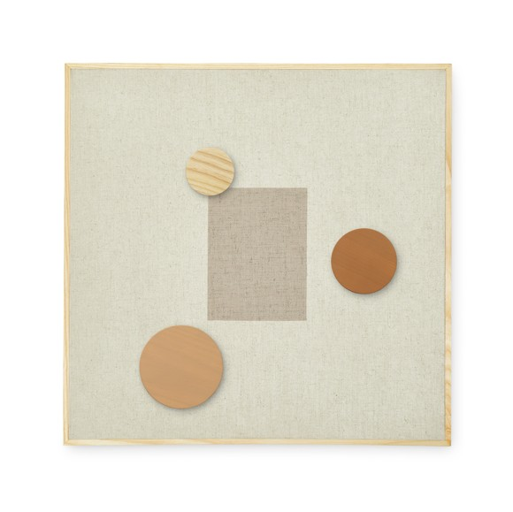Nofred - Magnetic Pinboard - Sand