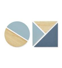 Nofred - Wooden Magnets Set - Blue