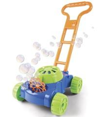 Soap bubble lawn mower