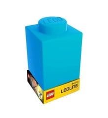 LEGO - Silicone Brick - Night Light w/LED - Blue