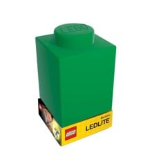 LEGO - Silicone Brick - Night Light w/LED - Green