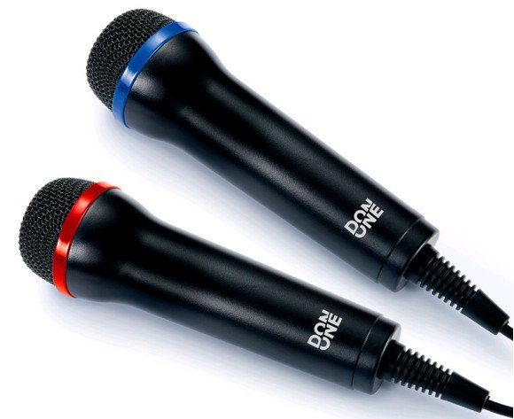 DON ONE - GMIC200 DUAL Universal Duets Twin USB Microphone Pack (PS5/PS4/PS3/Xbox One/Xbox 360/PC/DVD)