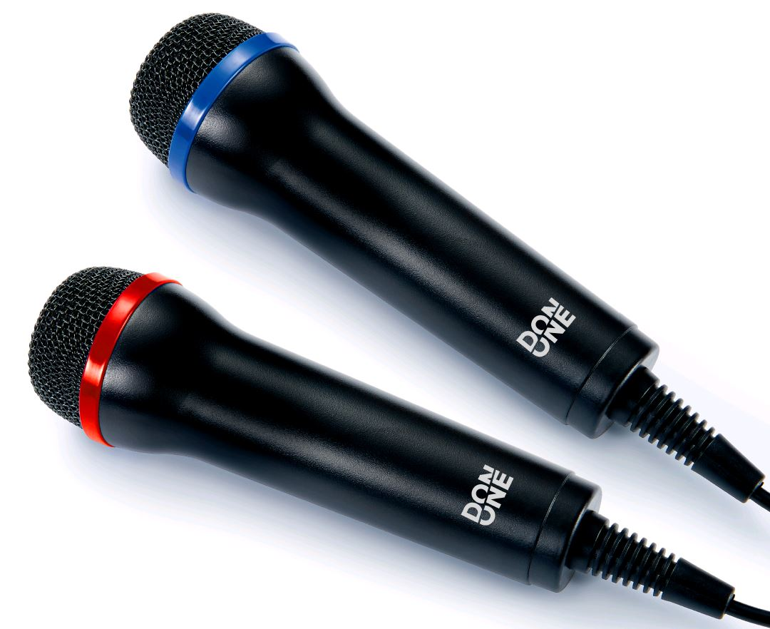 DON ONE – GMIC200 DUAL USB Mikrofon sæt karaoke (PS5/PS4/PS3/Xbox One/Xbox 360/PC/DVD)
