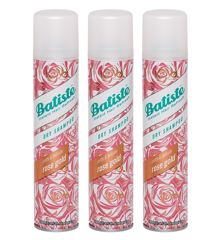 Batiste - 3 x Dry Shampoo Rose Gold 200 ml