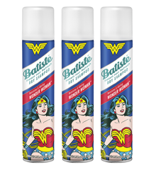 Batiste - 3 x Dry Shampoo Wonder Woman 200 ml