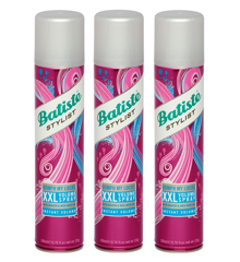 Batiste - 3 x Dry Shampoo Stylist Oomph My Locks XXL Volume Spray 200 ml