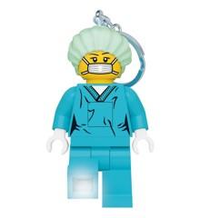 LEGO - Nøglering m/LED - Læge