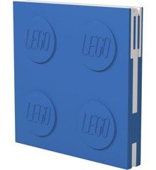 LEGO - Deluxe Notesbog med Kuglepen - Blå