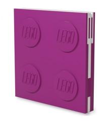 LEGO - Deluxe Notesbog med Kuglepen - Violet