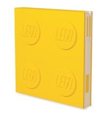 LEGO - Deluxe Notesbog med Kuglepen - Gul