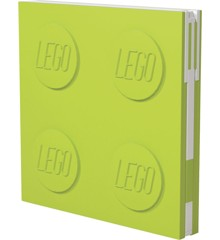 LEGO Stationery - Notebook Deluxe with Pen - Lime (524425)