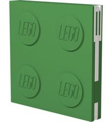 LEGO - Deluxe Notesbog med Kuglepen - Grøn