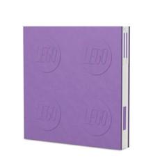 LEGO - Deluxe Notesbog med Kuglepen - Lavendel
