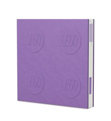 LEGO Stationery - Notebook Deluxe with Pen - Lavender (524456)