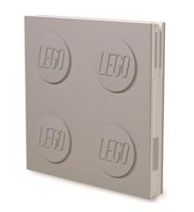 LEGO - Deluxe Notesbog med Kuglepen - Grå