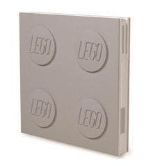 LEGO Stationery - Notebook Deluxe with Pen - Grey (524487)
