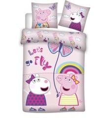 Bed Linen - Junior Size 100 x 135 cm - Peppa Pig (1000404)