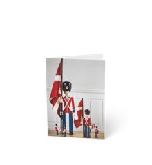 Kay Bojesen - 3 x Kort A6 Garder Alle Størrelser - Rød/Blå/Hvid