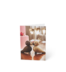 Kay Bojesen - 3 x Card A6 Turtelduer