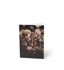 Kay Bojesen - 3 x Kort A6 Trædyr, Gravhund Front