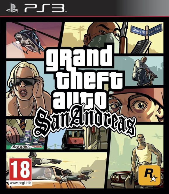 Grand Theft Auto: San Andreas (GTA)