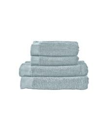 Zone - Classic Håndklæde Sæt - Støvet Grøn