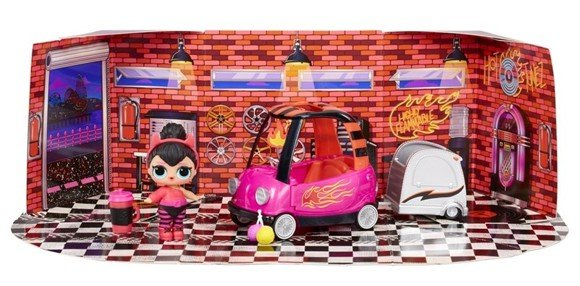L.O.L. Surprise - Furniture with Doll (Wave 3) - BB Auto Shop - Spice (561736xx3)