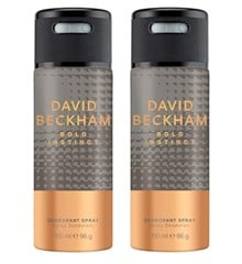 David Beckham - 2x Bold Instinct Deodorant Spray