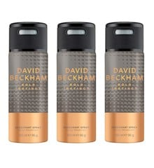 David Beckham - 3x Bold Instinct Deodorant Spray