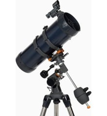 Celestron - Astromaster 114EQ-MD med smartphone adaper og månefilter